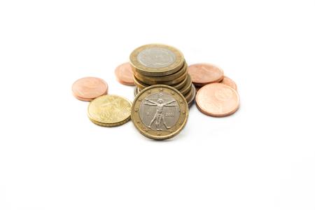 pf: Pile pf euro coins