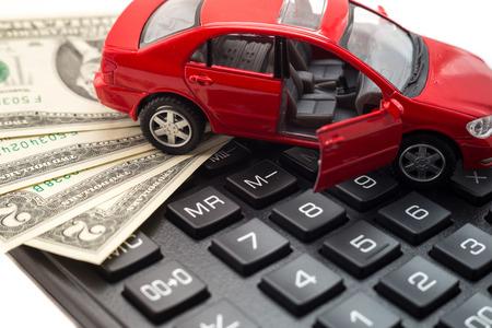 Auto verzekering  Stockfoto - 46397656