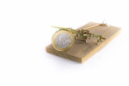mousetrap: mousetrap with euro