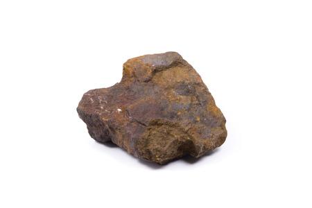 iron: iron ore stone Stock Photo