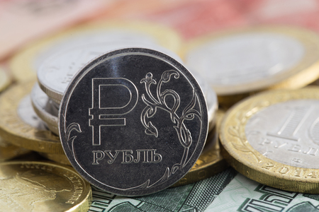 roubles: one rouble icon