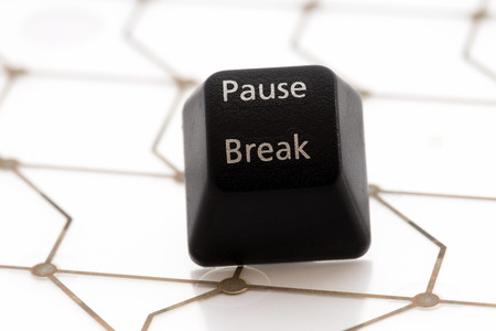 break: keyboard button pause break