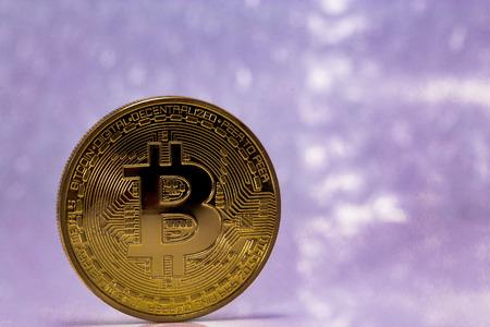 crypto: one golden bitcoin