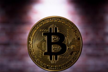 one gold bitcoin