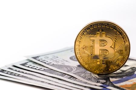 bitcoin and dollars
