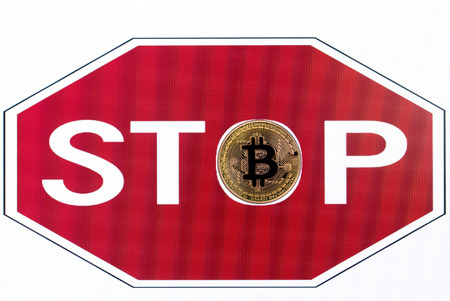 symbol stop bitcoin