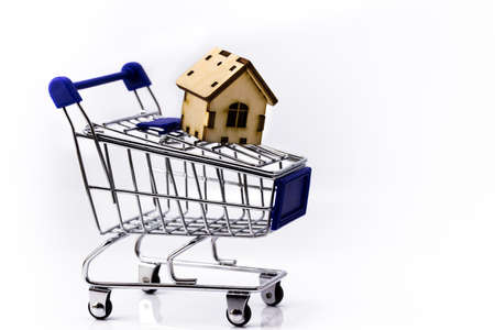 shopping cart with home