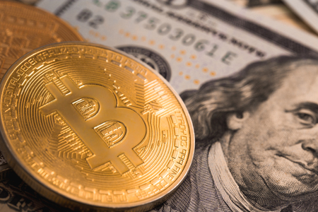 bitcoin network: bitcoin and dollars