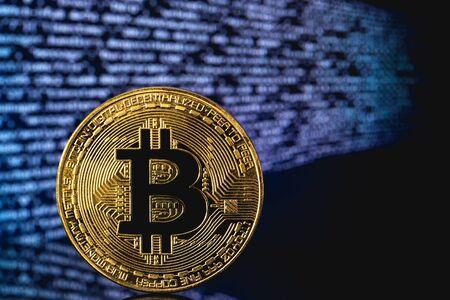 bitcoin cryptography Reklamní fotografie