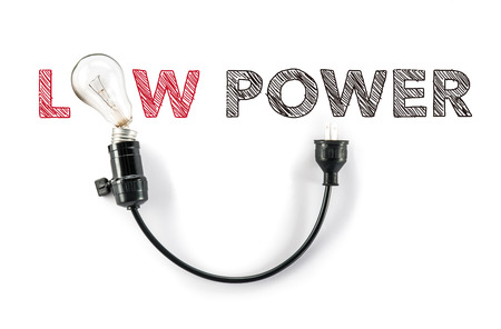 phrase: low power phrase and light bulb