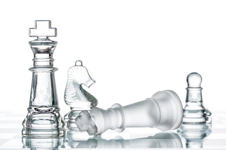 adversity: Checkmate Strategy on chess board, business War Winning, topple  Conquering Adversity