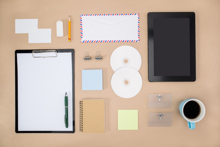 office supply: smart phone, tablet and Office Supply
