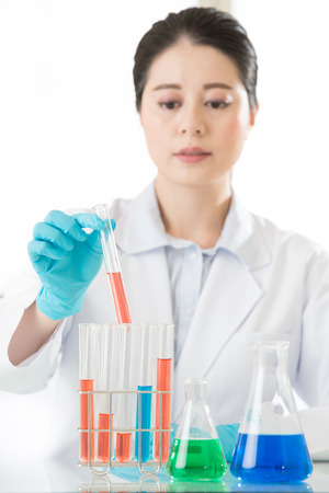 forensic: Asian female forensic scientist finally a breakthrough in laboratory