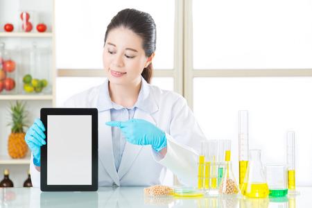 genetic information: find information on internet for digital tablet genetic modification food