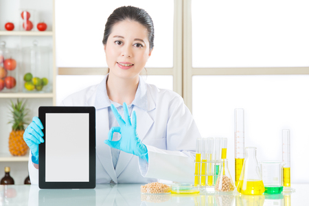 genetic food modification: genetic modification food are ok for human health by digital tablet