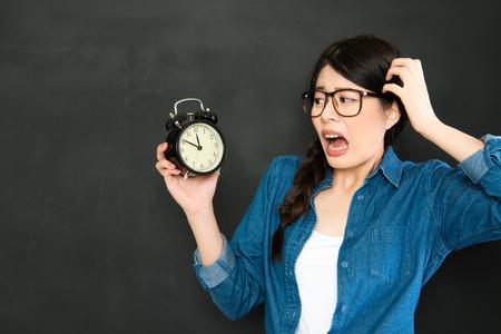 oversleep: time never wait for people who always oversleep student