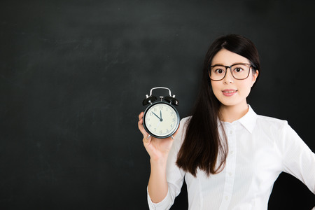 A good teacher must know to be on time is very important for school