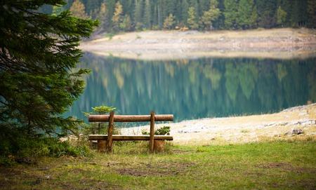 lake beach: Lake of the Woods Autumn Landscape , beautiful