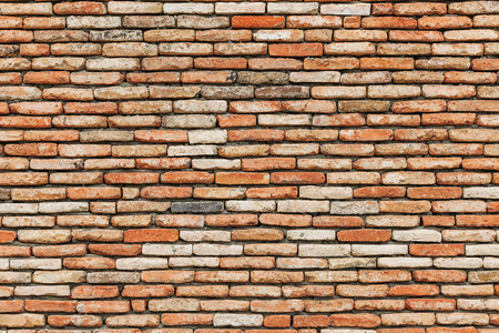 paredes de ladrillos: Background of old vintage brick wall Stock Photo