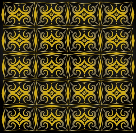 islamic pattern: The artwork wallpaper  Illustration