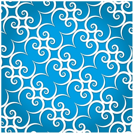 The Artwork pattern background. Vector