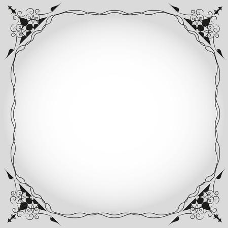 artwork design frame Illustration