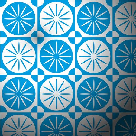 victorian wallpaper: Bright blue sky backgrounds. Illustration