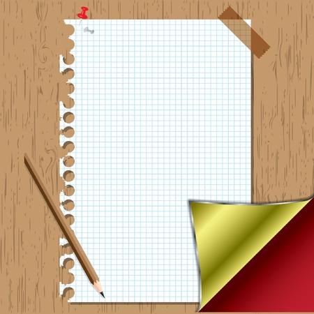 Set  memory sheet board.