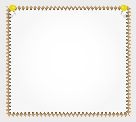 memorize: New paper pad zigzag pattern with pinpush.