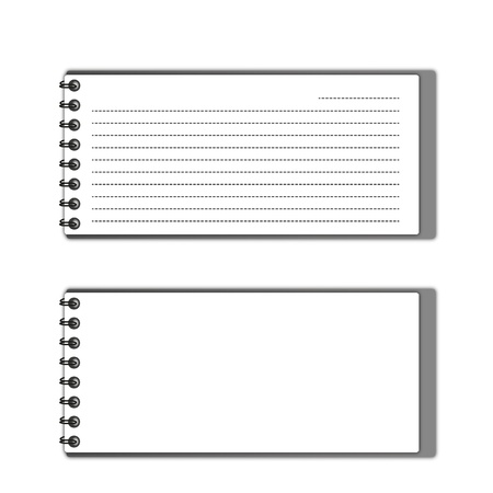 memorize:  New pattern gray  pocketbook space and lines papers.  Stock Photo