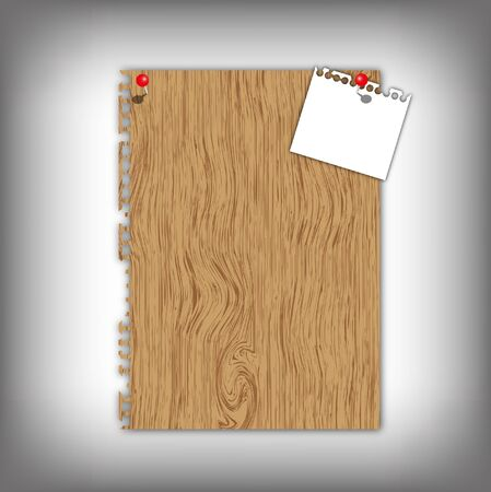 memorize: New paper pad with texture and red pin