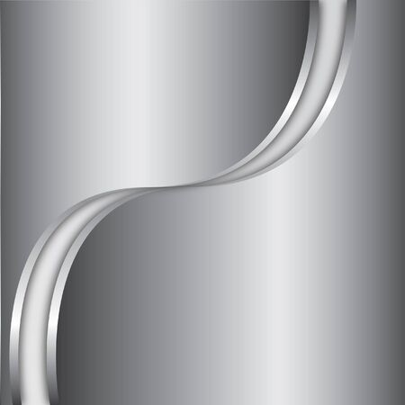 concave: Abstract background and silver steel metallic