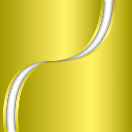 Abstract background and yellow steel metallic