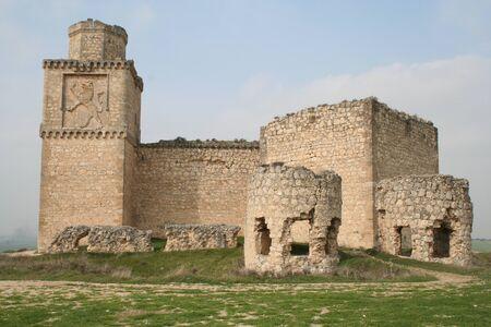 Château de Barcience, toledo Banque d'images - 11218865