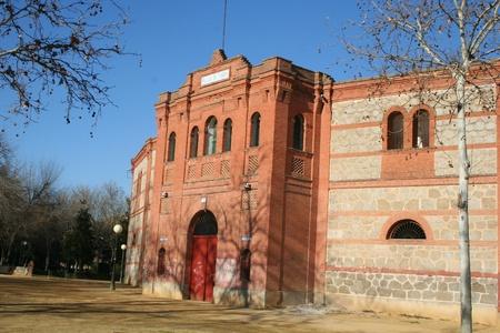 facade of the plaza de toros de tavera of the queen, the capricious Stock Photo - 11218866