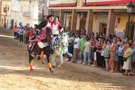 Carreras de caballos enjaezados El Carpio de Tajo, Toledo