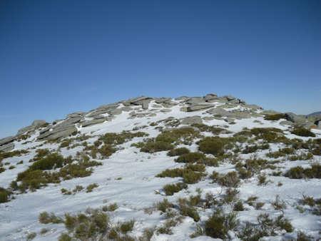 Sierra de Gredos, the Morezon Puett, Avila Stock Photo - 11475904