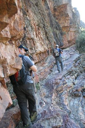 Trekkings, Rocigalgo, montaña 1.448 metros Foto de archivo - 11653905