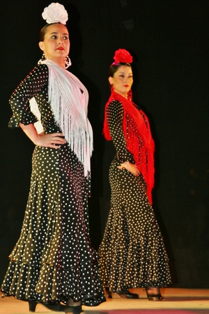 baile: Flamenco, Andalucia. dance, Spanish-style dance, music Editorial