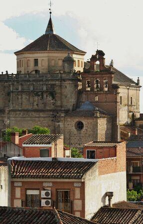 talavera: facade of the convent San Prudencio, Talavera de la Reina