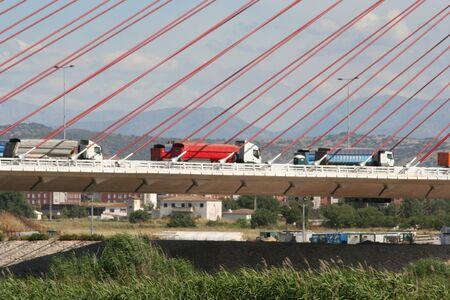 talavera: Trucks, Cable-stayed bridge Talavera, Toledo