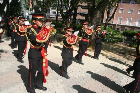 Holy Week,  music band, musician parade, 2011