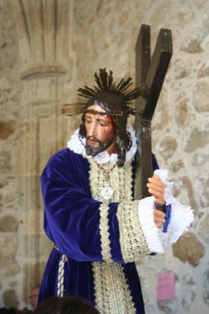 semana santa:  Holy Week processions of Talavera - Spain - 2011Christ Nazarene