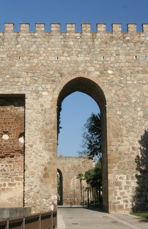 diurno: Wall and flanking towers, Talavera de la Reina