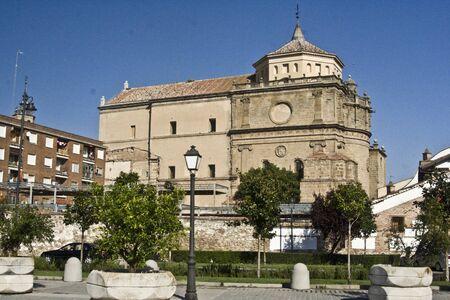 talavera de la reina:  facade convent,  San Prudencio, Talavera, Toledo Editorial