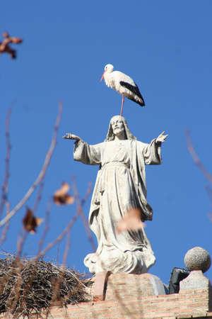 Statue of The Sacred Heart,   los Navalucillos, Toledo