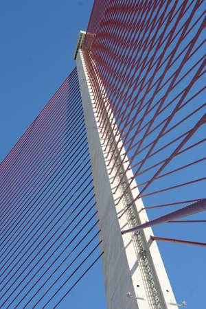 talavera: Cable-stayed bridge pylon of Talavera