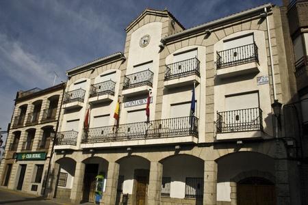 City Hall,  Castillo de Bayuela, Toledo, Spain