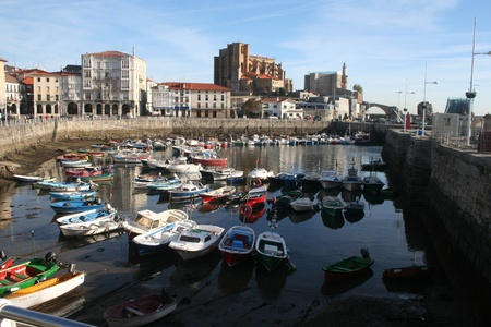 port of Castro Urdiales, Cantabria.