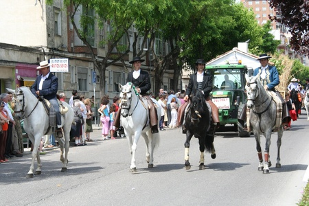 Feast of San Isidro, Parade of Horses